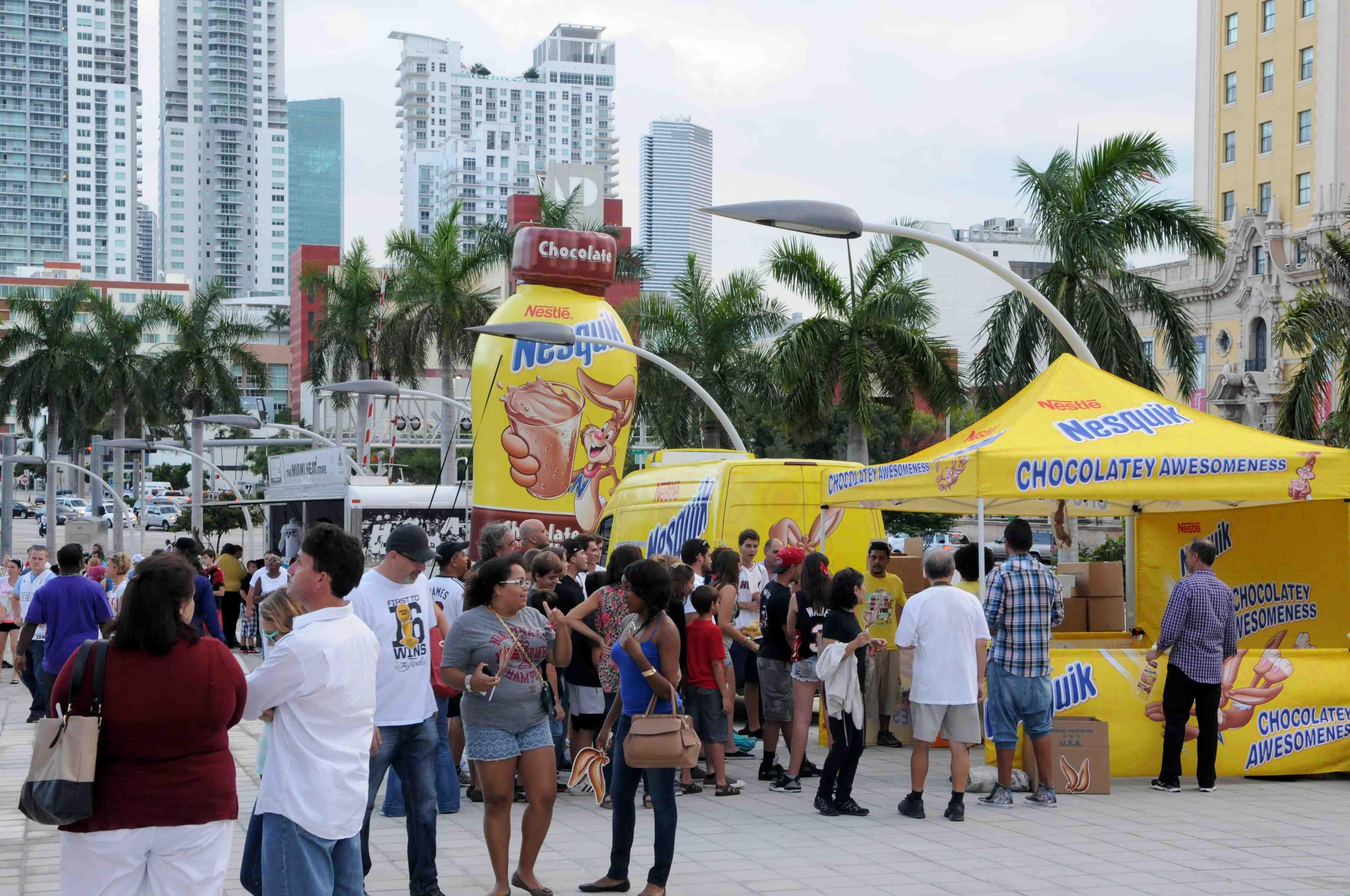 Nesquik – Refuel Miami