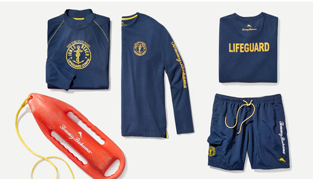 Tommy Bahama Lifeguard Uniforms