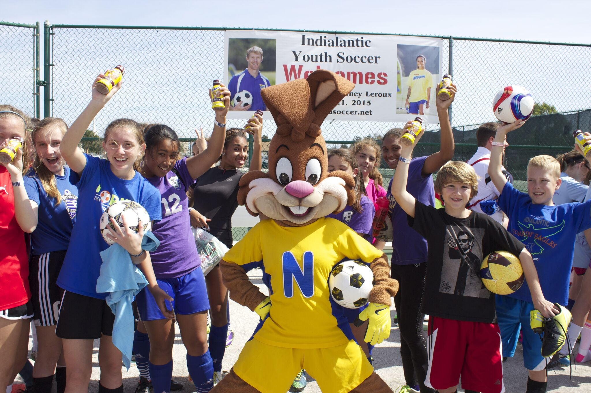 Nesquik Youth Soccer Marketing Campaign