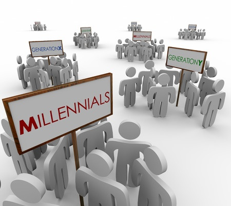 millennials, generation X, generation Y, baby boomers, generations, marketing audience, target audiences