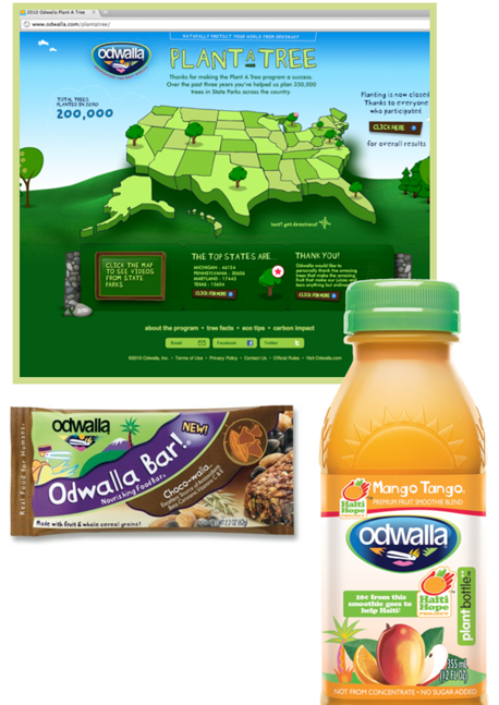 Odwalla Campaign by Good Solutions Group