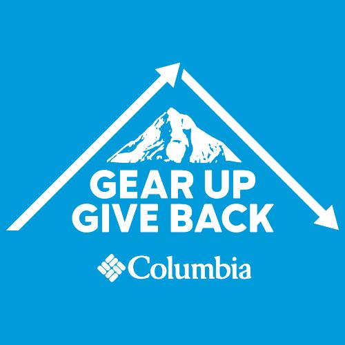Columbia Sportswear Gear Up Give Back