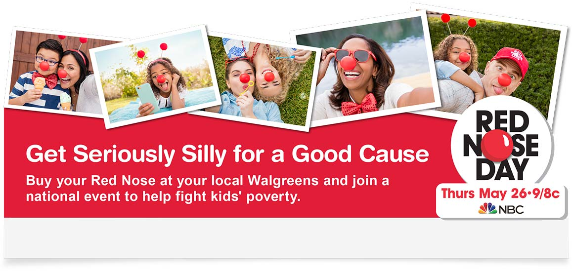 Walgreens Red Nose Day Cause Marketing Campaign