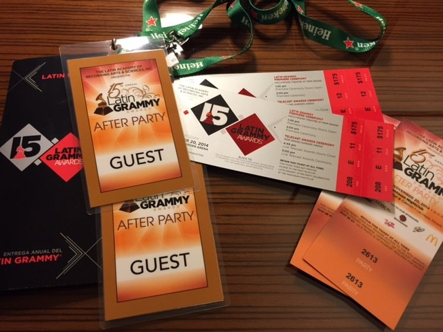 GSG attends the Latin Grammy Awards in Vegas