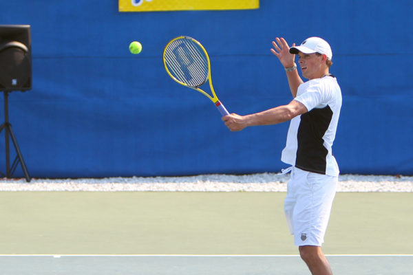 Photos by David Kenas www.dkshots.com THe Bryan brothers in action during the exhibition at the Nesquik Little Mo Internation.  732-616-7333 david@dkshots.com
