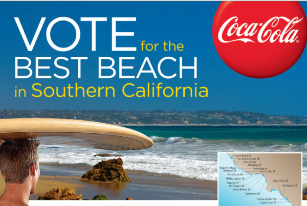 <strong>Coca-Cola</strong><br/><i>Vons Best Beach</i>