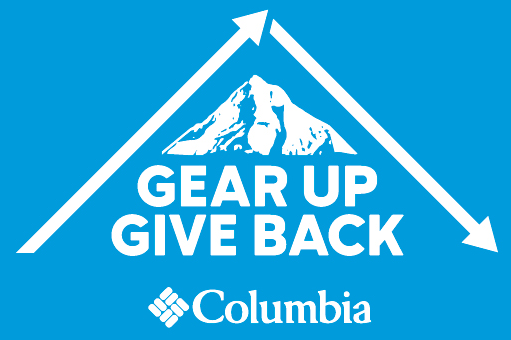 <strong>Columbia Sportswear </strong><br/><i> Gear Up Give Back</i>