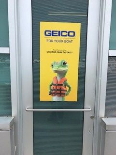 Geico Window Cling 31st Street